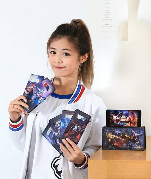 多款《Garena傳說對決》英雄角色造型手機背蓋讓玩家自由挑選