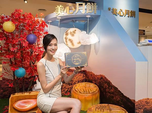 圖5.香港美心打造全台首間3D月景快閃店,吸睛超美拍