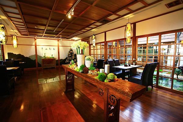 草山行館餐廳-飲和堂日式庭院