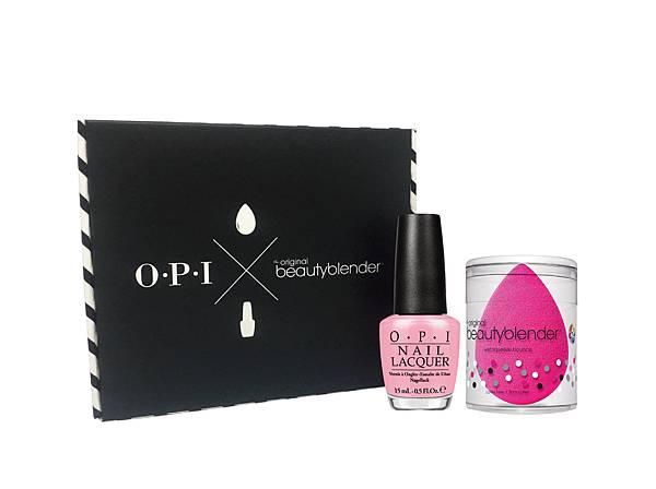 粉紅訂製魔力 OPI X beautyblender® 專業訂製美妝盒,限量價$920,即日開賣!