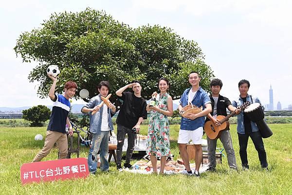 眾星雲集一同慶賀TLC台北野餐日邁向五年里程碑(圖/TLC旅遊生活頻道提供)