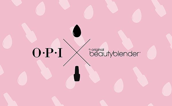 美甲美妝神器首度合體!粉紅訂製魔力 OPI X beautyblender® 專業訂製美妝盒