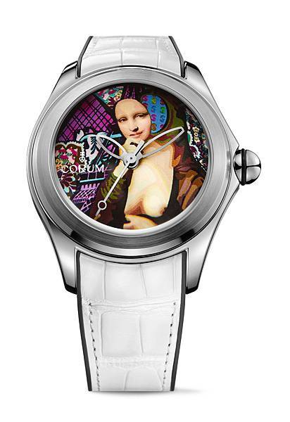 CORUM Bubble 泡泡系列_47 mm Elisabetta Fantone_NTD244,000