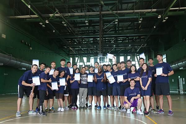 來自英國勞倫斯體育公益基金會資深訓練員Rubel Ahmed、Mthoko Madonda再次回到台灣,為明道大學籃球隊球員進行為期三天的種子講...