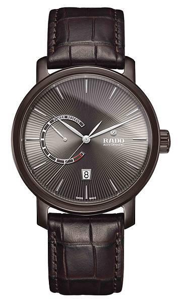 Rado DiaMaster 鑽霸系列動力儲存腕錶_巧克力色_建議售價NTD74,700