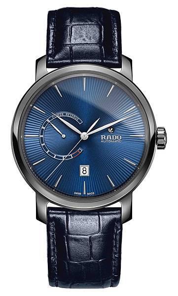 Rado DiaMaster 鑽霸系列動力儲存腕錶_藍_建議售價NTD74,700
