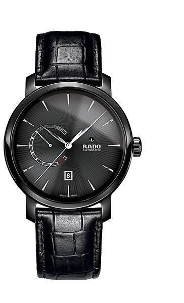 Rado DiaMaster 鑽霸系列動力儲存腕錶_黑_建議售價NTD71,100