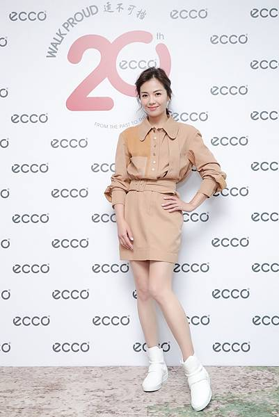 【ECCO新聞稿照片1】代言人劉濤出席ECCO大中華區秋冬新品發表會