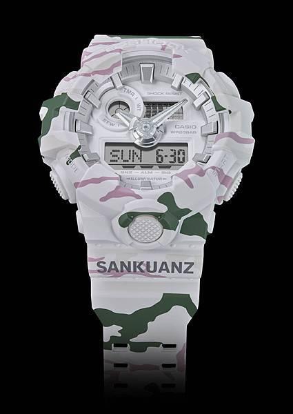 中國新興服裝設計師上官喆SANKUANZ 以極地迷彩為靈感 北極迷人的極地迷彩-雪山與苔原完美融合於錶款