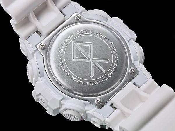錶背刻有SANKUANZ品牌LOGO
