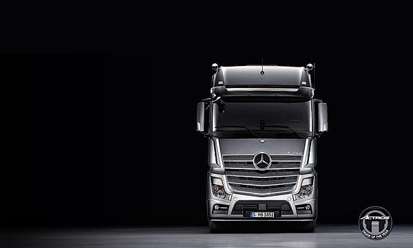 新一代Mercedes-Benz 商用重車主力車款Actros,榮獲2012年度風雲重車,全方位進化備受肯定