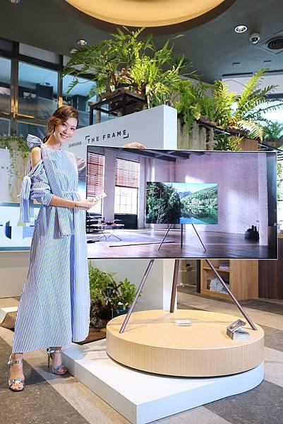 三星電子展現個人生活態度的THE FRAME美學電視,為電視市場開創新局