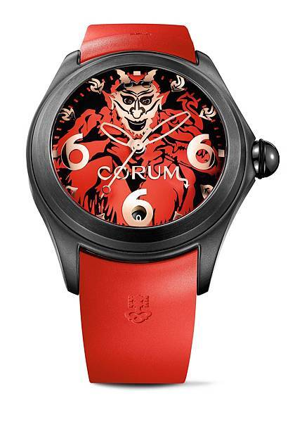 CORUM Bubble 泡泡系列_52 mm Lucifer_NTD 193,000