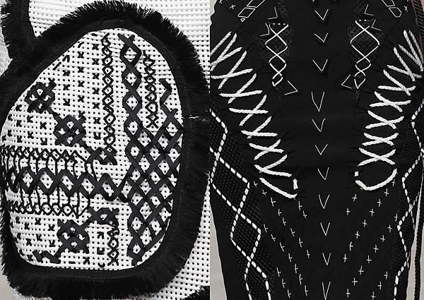 安德烈將和台東部落中工坊及擁有精湛十字繡工藝的部落婦女合作,希望透過時尚的包裝做為傳遞排灣族十字繡藝術的媒介。