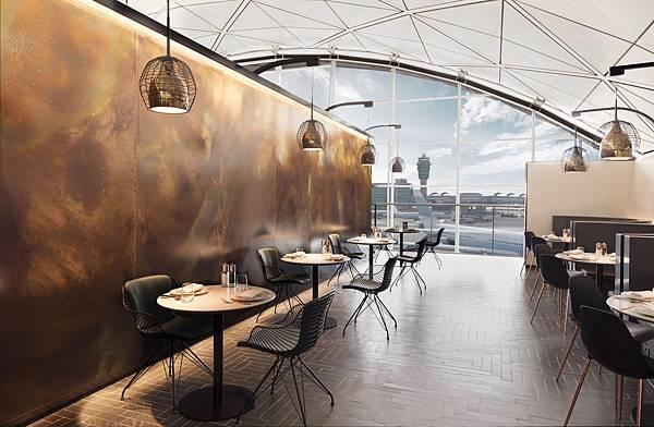 香港The Centurion Lounge -- Centurion會員專屬餐飲區提供米其林等級佳餚