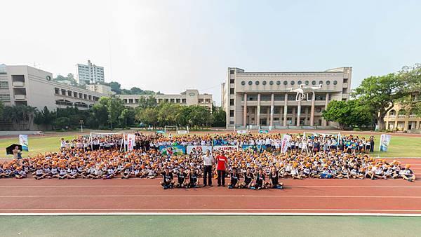 第九屆YAMAHA CUP校園巡迴第三站彰化中山國小大合照