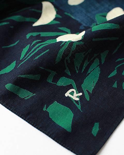 45R 綠色月亮方巾,NT$2,980。(近照)-3