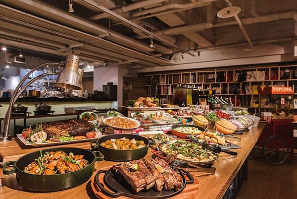 吃吧餐廳_尾牙春酒派對_圖片提供_台北西門町意舍酒店