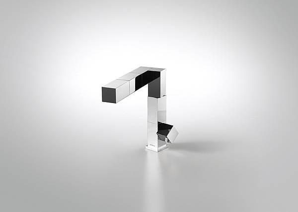 【BRAVAT 新聞圖片】特力屋代理德國百年工藝衛浴品牌BRAVAT,魔方龍頭 具360度旋轉功能,可調整出水高度,售價22,900元,週年慶正式登場。-1