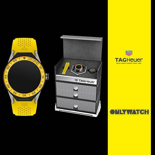 TAG Heuer Connected Modular 45 Only Watch特別腕錶義賣套組情境圖。_02