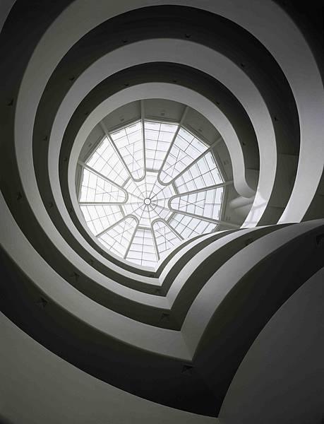MidoXGuggenheim_古根漢美術館玻璃圓頂天窗