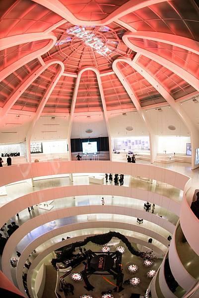 MidoXGuggenheim_紐約古根漢美術館 美度表靈感源於建築晚宴