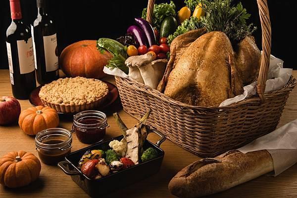 Que原木燒烤餐廳-感恩節火雞大餐-圖片提供-台北松山意舍酒店
