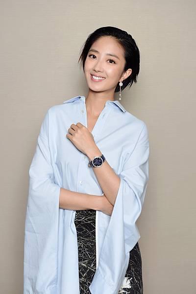 桂綸鎂出席電影《巨額來電》首映會,116495 萬寶龍Bohème寶曦系列萬年曆珠寶腕錶限量款-2