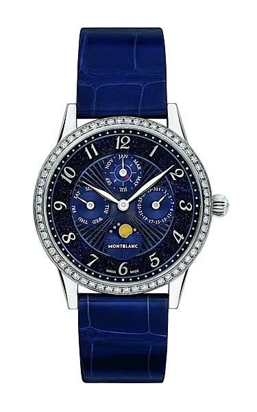 116495 萬寶龍Bohème寶曦系列萬年曆珠寶腕錶限量款,NT$792,100
