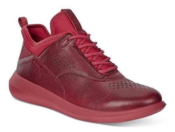 【ECCO新聞稿圖片9】 SCINAPSE低筒綁帶款女鞋_紅_$5680