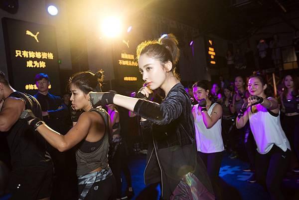 PUMA大中華區最新品牌女力大使古力娜扎展現果敢堅韌的自信美 (2)