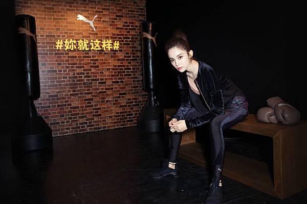 PUMA大中華區最新品牌女力大使古力娜扎