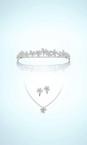 【Ginza Diamond Shiraishi】Prince Rhea 皇冠三件組
