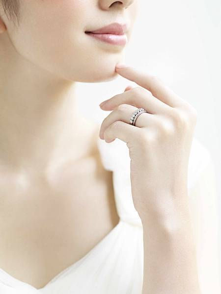 【Ginza Diamond Shiraishi】Lei Dew 4 永恆鑽戒+ Bouquet 結婚戒指