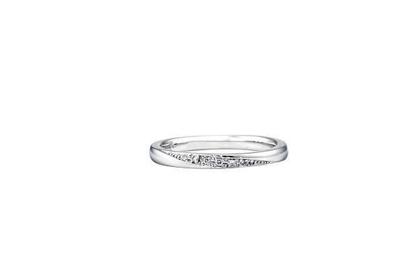 【Ginza Diamond Shiraishi】Bouquet 結婚戒指(女款)