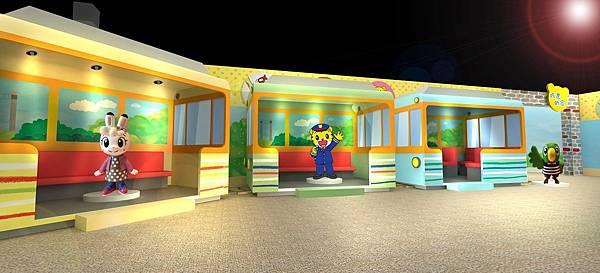 亞洲首站!巧虎主題特展,從進入巧連智車站開始,帶著小朋友們登島上岸探索遊玩