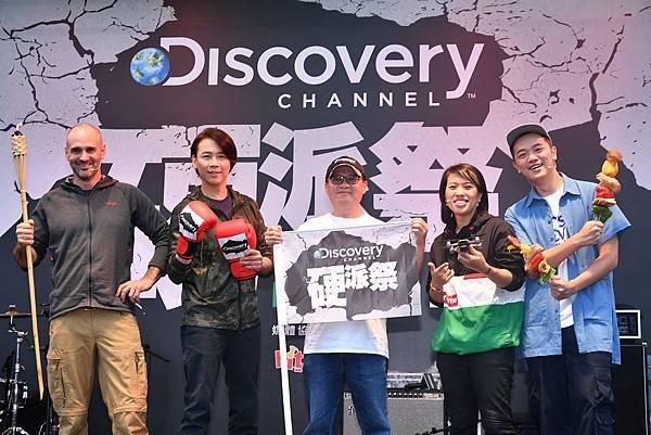 Discovery頻道「硬派祭」破萬人露營野炊