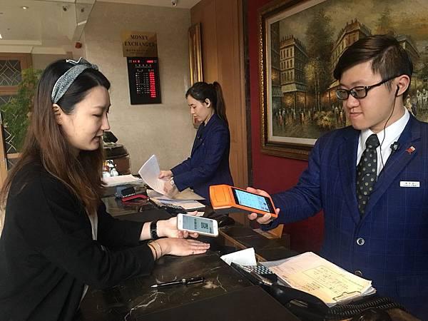 雲朗觀光自11月13日起啟動LINE Pay行動支付,讓旅行也可享受便捷的付款方式