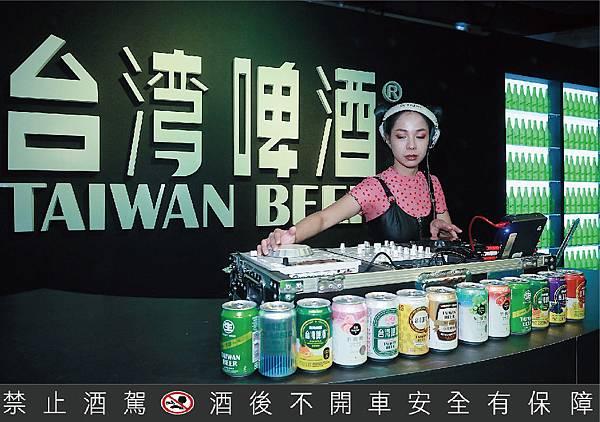 台啤主題館3日精彩電音秀 DJ JO帶你嗨翻全場-01