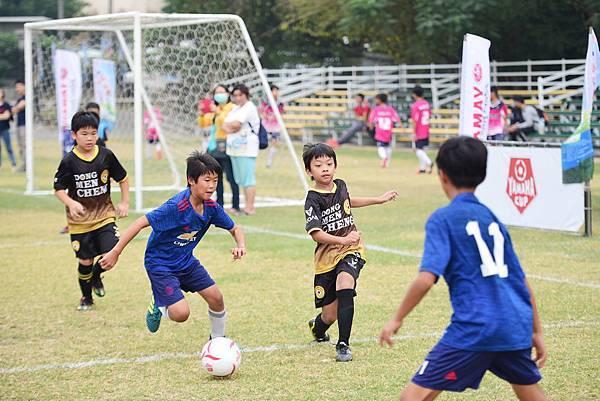 東區勝利國小(藍)連三屆闖YAMAHA CUP全國賽