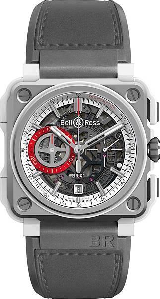 BR-X1 White Hawk鏤空計時碼錶全球限量250只,建議售價NT$667,200
