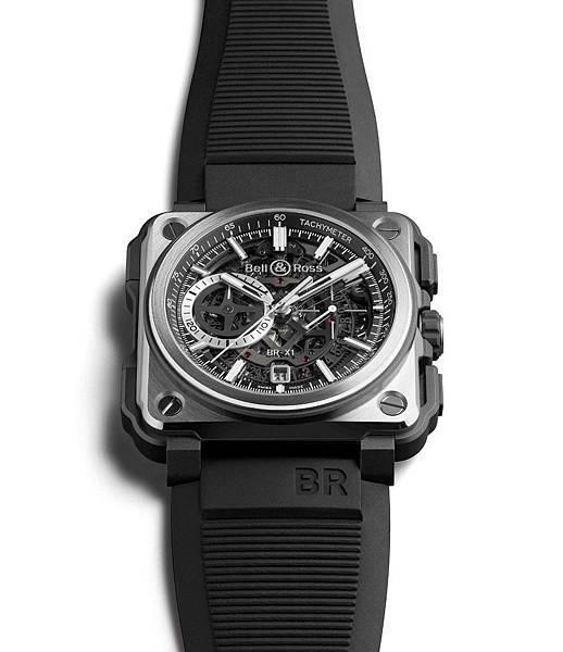 Bell&Ross BR-X1 Black Titanium 限量250只,建議售價NT$629,700