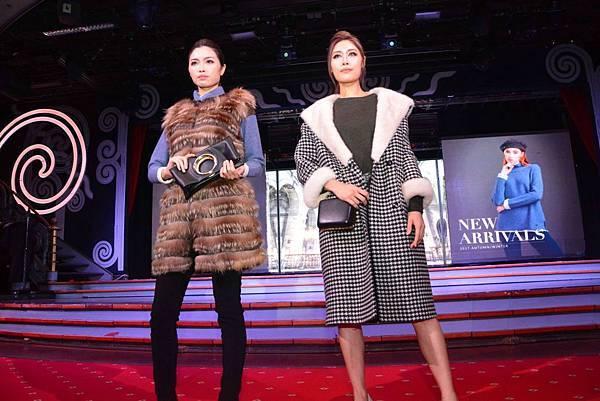 新聞圖片5_KeyWear郵輪時尚秀模特兒演繹2017冬季新品