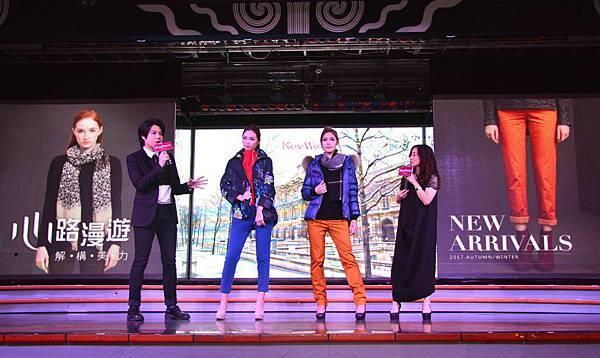 新聞圖片1_KeyWear邀請國際時尚大師李佑群於郵輪時尚秀親授穿搭秘訣