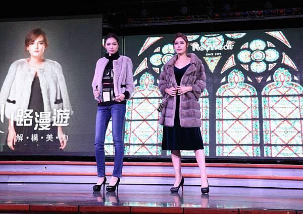 新聞圖片4_KeyWear郵輪時尚秀模特兒演繹2017冬季新品