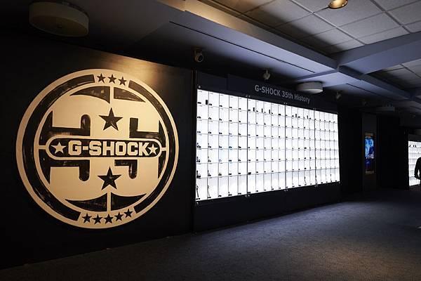 活動現場共展出了420隻G-SHOCK 35年來的經典型號及聯名錶款