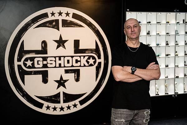 G-SHOCK與紐約藝術家Eric Haze七度攜手合作推出聯名錶款_Photo Credit_ Ryan Muir