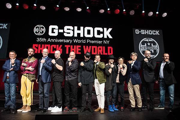 G-SHOCK邀請來自世界各地喜愛音樂、藝術、街頭運動及時尚的各界人士聚集於此 共同慶祝2018年G-SHOCK 35周年的到來_Photo Credit_ Ryan Muir