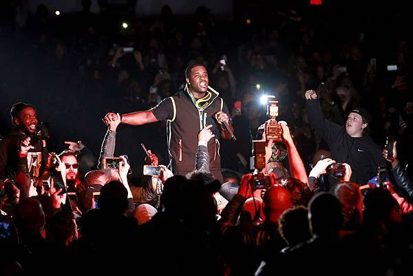 嘻哈團體A$AP Mob成員A$AP Ferg帶給全場最狂熱的音樂派對