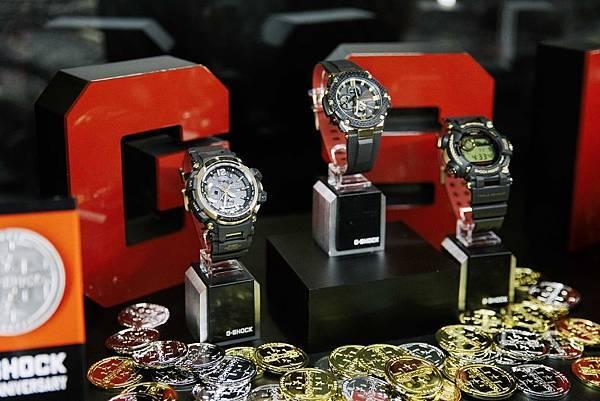 第二波G-SHOCK 35周年紀念錶款「GOLD TORNADO」系列台灣11月正式販售